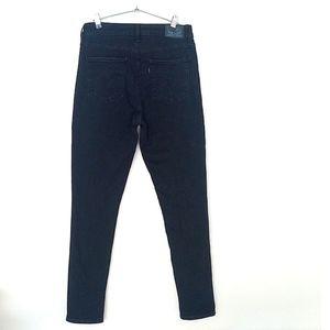 Levi's Jeans - Levi's 721 High Rise Skinny Black Wash Jeans